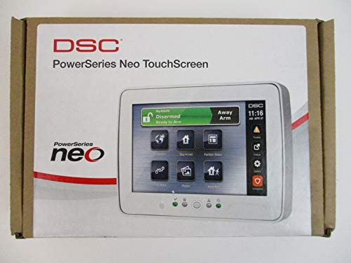 DSC HS2TCHP - 7 Inch Touchscreen Alarm Keypad with Prox Support