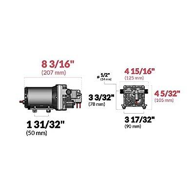 SHURFLO Aqua King II Automtic Fresh Water Pump, 3 GPM, 12V: Automotive