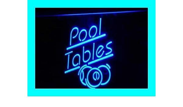 Jintora - Neon Sign - señal de neón - Pool Tables - Mesas de ...