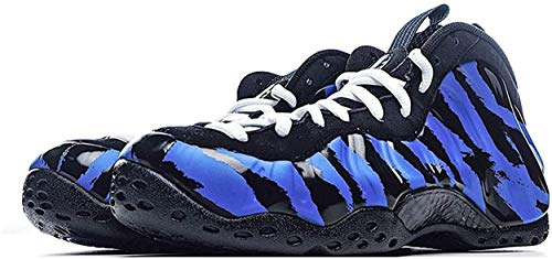 DIANZI Mens Foamposite High-top Outdoor Basketball Sneakers Anti-Slip Breathable Casual Fashion Running Training Sports Shoes