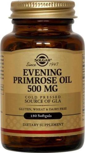 Solgar - Huile d'onagre, 500 mg, 180 gélules