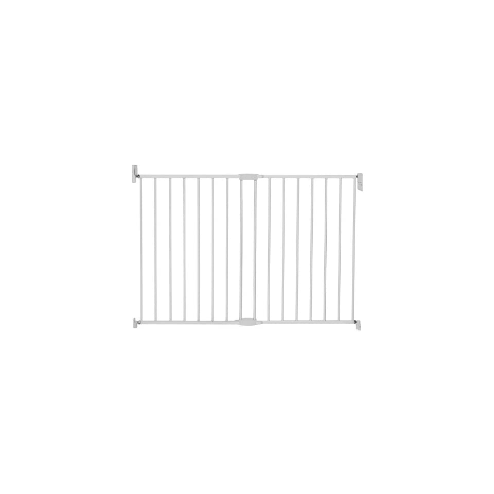 Munchkin Extending Extra Tall and Wide Metal Gate, White