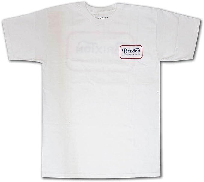 Brixton Freeman T-Shirt White: Amazon.es: Ropa y accesorios
