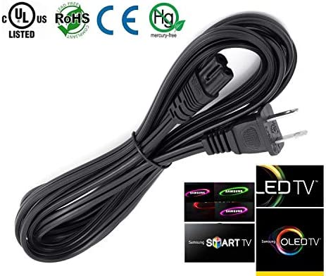 UN60EH6000 UN40ES6100 UN46EH6000 ReadyWired Power Cable Cord for Samsung TV UN40EH6030 UN46EH5000 UN65EH6000 UN50ES6100