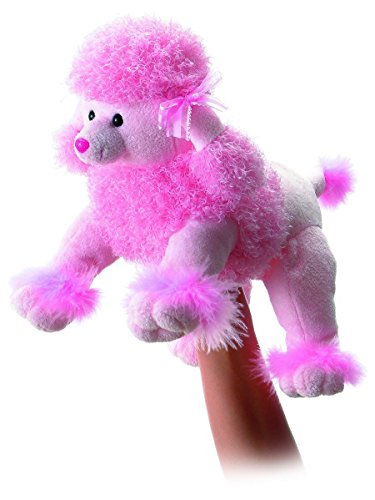 Aurora World – Fancy the Pink Poodle Body Puppet – Made From Soft and Huggable Plush – Medium