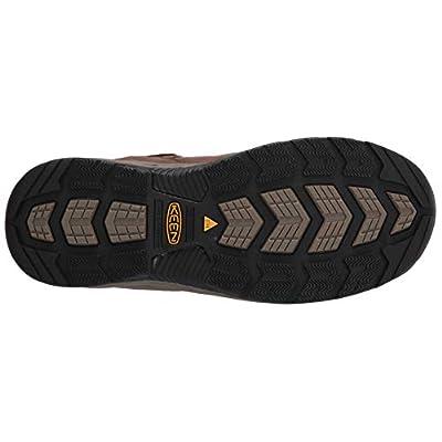KEEN Utility Men's Atlanta Cool II Low Steel Toe Construction Shoe, Shiitake/Rust, 15EE US: Shoes