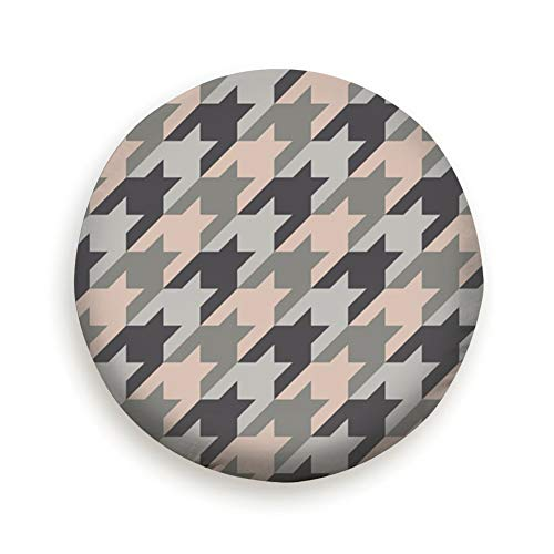 - Surface Design Houndstooth Ornament Hounds Universal Spare Wheel Tire Cover Fit for Truck Camper Van,Jeep,Trailer, Rv, SUV Trailer Accessories