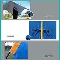 ZMJY Camping Carpa, toldo Triangular 2 Metros Altura Exterior más ...