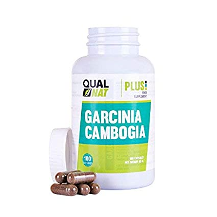 Garcinia Cambogia Plus con propiedades quemagrasas - Suplemento adelgazante y supresor de apetito de Garcinia Cambogia