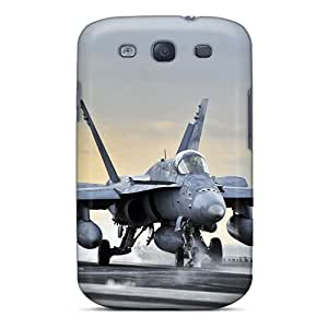 Fashion HZwIkCc11644UmBnS Case Cover For Galaxy S3(the Cat Shot)