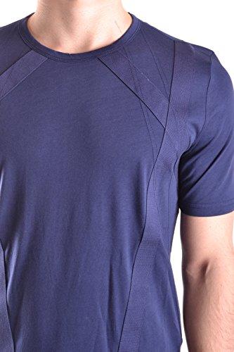 Diesel Black Gold Herren 00SYMPBGTIQ8AT Blau Baumwolle T-Shirt