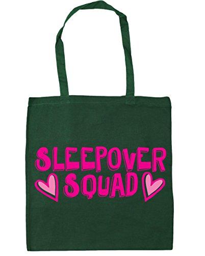 Bag Green Beach litres Shopping Tote Bottle 42cm Gym HippoWarehouse 10 squad Sleepover x38cm xX7qwA4SY