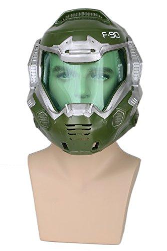 Xcoser コスプレ マスク かっこいい ゲーム ヘルメット ハロウン マスク 変装道具小物mask コスプレ