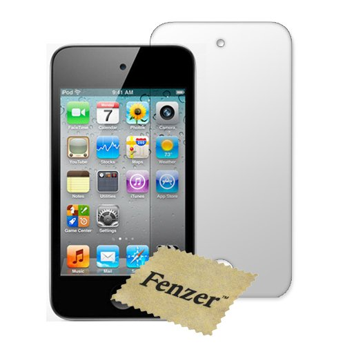 100 Pack Fenzer Anti-Scratch Clear Screen Protector for Apple iPod Touch Gen4 4th Generation w/ Cloth