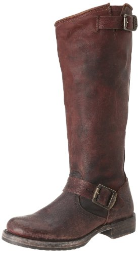 Slouch Dark Brown Frye Stone 72483 Antiqued Boots Veronica Womens gqxWRBH