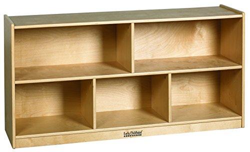 ECR4Kids Birch 5 Compartment Storage Cabinet, 24