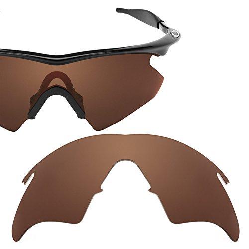 Revant Polarized Replacement Lens for Oakley M Frame Heater Dark Brown ()