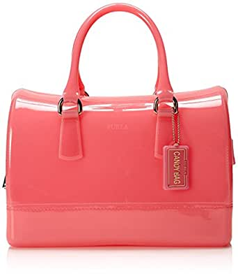 Amazon.com: Furla Candy Bauletto (Rose): Clothing