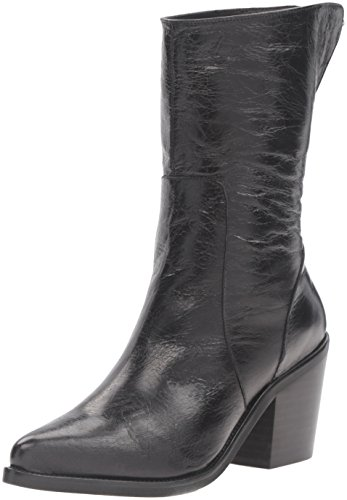 Shellys London Women's Sylvia Western Boot Black BdPa23W