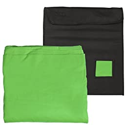 Prism Backdrops by Ravelli 10x12\' (9x10.8\' after pre-shrinkage) Chromakey Green Muslin Photo Video Backdrop Background 100% Cotton