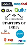 Startups of India: Top 100 most funded