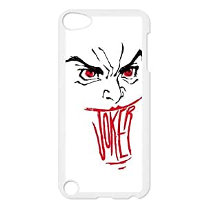 iPod Touch 5 Case White Smile Joker Coube