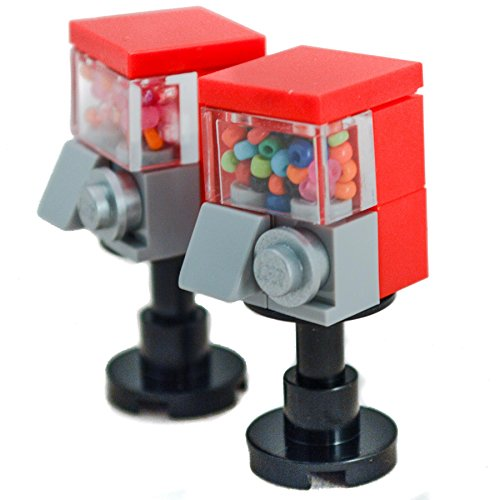 Lego Custom Instructions (LEGO Furniture: Candy Machines)