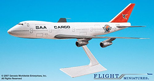 Flight Miniatures South African Airways SAA Cargo Boeing 747-100/200 1:250 Scale OC