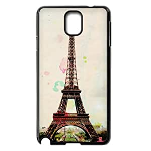 T-TGL(RQ) Samsung Galaxy Note 3 N9000 High-Quality Phone Case Paris Tower Print with Hard Shell Protection