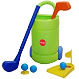 [GOOD SHOT] Golf Toys Set, Golf Ball Gaming, Outdoors Golf Training, Active, Early Educational Exercise Toy for Kids and Toddler