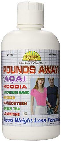 Dynamic Health livres loin avec Hoodia Liquid Diet de 32 once