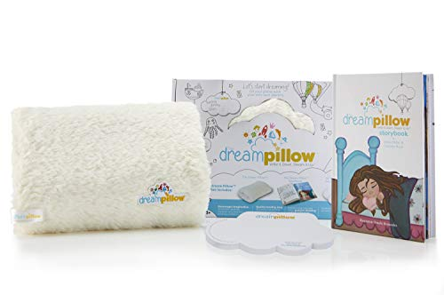 The Dream Pillow, a Fun Super Soft Plush Toy Pillow You Can Snuggle. Promotes Better Sleep Routine. Bundle INCLUDES Pillow, Storybook and 60 Dream Wish Notes.