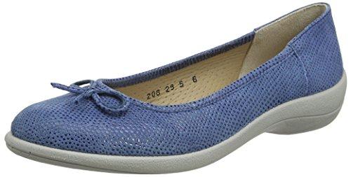 Bailarinas Para Roxy blue Azul Padders Mujer 5qPS4SE