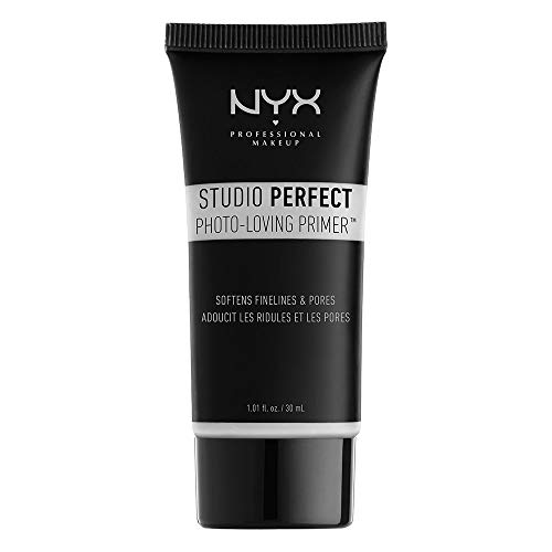 NYX Studio Perfect Primer, Clear, 1.0 oz/30ml (Best Rated Makeup Primer)