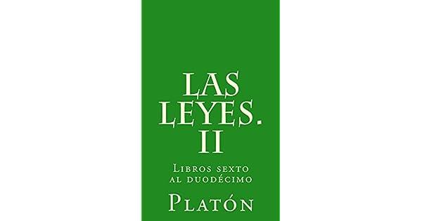 Las leyes. II eBook: Platón, Patricio de Azcárate: Amazon.com.mx ...