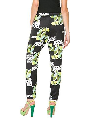 Desigual PANT_IOLI - Pantalones Mujer Negro