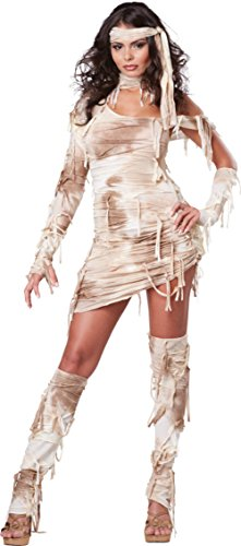 California Costumes Womens Sexy Mystical Mummy Halloween Theme Party Fancy Dress, Large (10-12) - Mystical Mummy Costumes