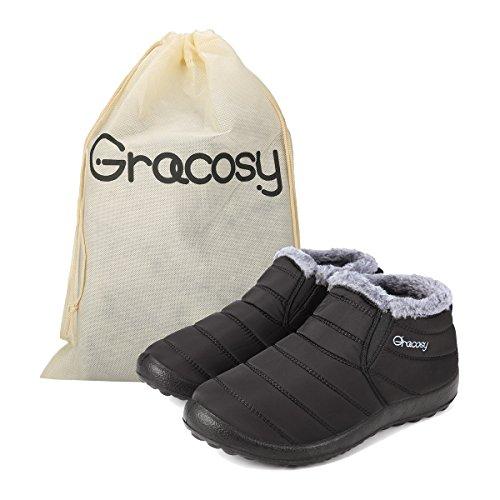 Chaussure Neige Ville de Enfant Femme Basse Bottes Homme Impem Gracosy de aqxPda8