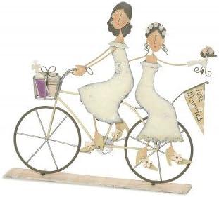 Figura Novias Chicas en Bicicleta.: Amazon.es: Hogar
