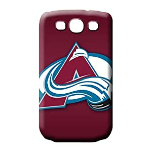 samsung galaxy s3 phone cover shell Premium covers skin colorado avalanche
