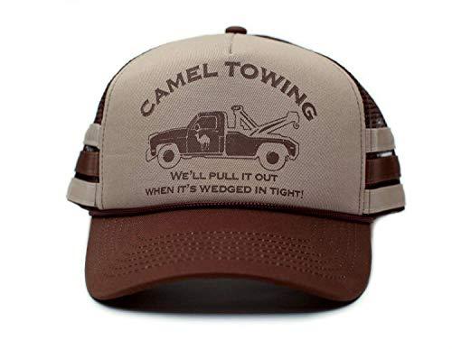 Camel Towing Co. Funny Hat Humor Rude Brown/Tan Cap Truckers]()