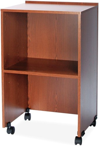 Base Swivel Vcr Tv (Safco Products 8917MO Lectern Base/Media Cart, (Optional Top 8916MO sold separately), Medium Oak)