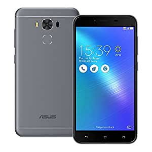 ASUS ZenFone 3 Max (ZC553KL) 2GB / 32GB 5.5-inches Dual SIM Factory Unlocked - International Stock No Warranty (Titanium Gray)