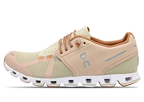On Running Womens Cloud Mesh Rose Sand Trainers 9 US
