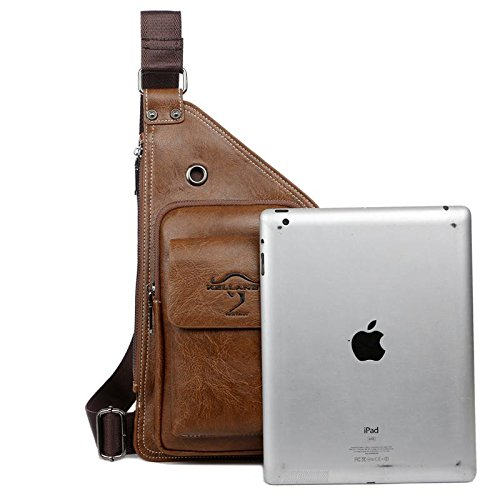 bag Messenger shoulder riding hiking outdoor chest climbing bag business Yellow bag cortex Backpack qAYpzz
