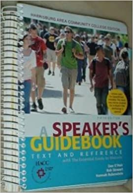 A Speakers Guide Book Text and Reference, Fifth Edition: Dan