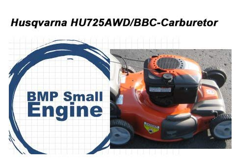 Amazon.com: BMotorParts Carburetor Carb Assy. Para Husqvarna ...