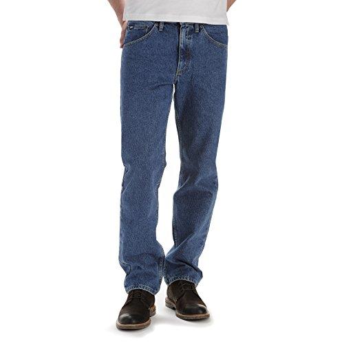 Lee Men's Regular Fit Straight Leg Jean, Light, 42Wx30L
