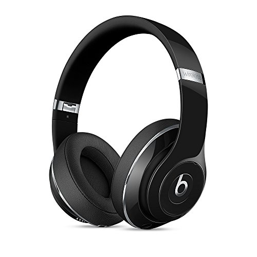 Beats by Dr. Dre. S.T.U.D.I.O Bluetooth Wireless Headphones with Adaptive Noise Cancellation (Gloss Black) by beats_by_dre