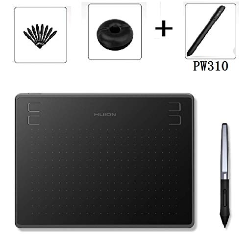 Huion HS64 Drawing Tablet, with Digital Pen PW310